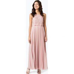 Marie Lund - Damska sukienka wieczorowa, różowy. Czerwone sukienki koktajlowe Marie Lund, z szyfonu. Za 699,95 zł.