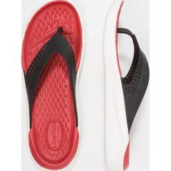 Chodaki męskie: Crocs LITERIDE FLIP Japonki kąpielowe black/white