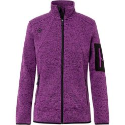 Bomberki damskie: Kurtka w kolorze fioletowym