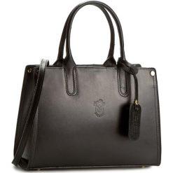 Torebka CREOLE - K10303  Czarny. Czarne torebki klasyczne damskie Creole, ze skóry. W wyprzedaży za 229,00 zł.