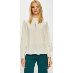 Vero Moda - Bluzka. Niebieskie bluzki z odkrytymi ramionami marki Vero Moda, z bawełny. Za 149,90 zł.