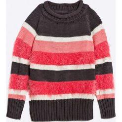 Blue Seven - Sweter dziecięcy 92-128 cm. Niebieskie swetry klasyczne damskie Blue Seven, z bawełny. W wyprzedaży za 39,90 zł.