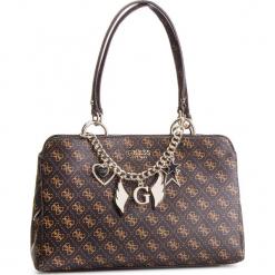 Torebka GUESS - HWSG71 79090 BROWN. Brązowe torebki klasyczne damskie Guess, z aplikacjami, ze skóry ekologicznej. Za 699,00 zł.