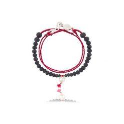 Bransoletka La Perla. Czerwone bransoletki damskie na nogę Aleksandra puchacz jewellery. Za 225,00 zł.