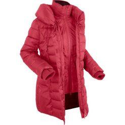 Kurtka outdoorowa 2 w 1, pikowana bonprix ciemnoczerwony. Czerwone kurtki damskie pikowane marki bonprix, s. Za 129,99 zł.