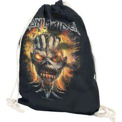 Iron Maiden Eddie Exploding Head Torba treningowa czarny. Czarne torebki klasyczne damskie Iron Maiden. Za 62,90 zł.