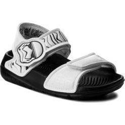 Sandały adidas - Star Wars AltaSwim CQ0128  Cblack/Cblack/Ftwwht. Białe sandały chłopięce Adidas, z materiału. Za 129,00 zł.