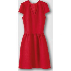 Sukienki hiszpanki: Sukienka żakardowa