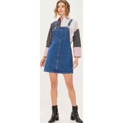 Sukienki hiszpanki: Topshop Petite Sukienka jeansowa middenim
