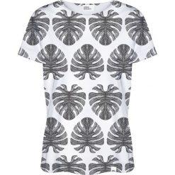 Colour Pleasure Koszulka damska CP-030 273 czarno-biała r. XXXL/XXXXL. Białe bluzki damskie marki Colour pleasure. Za 70,35 zł.