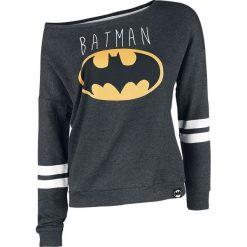 Bluzy rozpinane damskie: Batman Logo Bluza damska odcienie ciemnoszarego