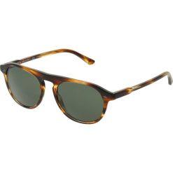 Okulary przeciwsłoneczne męskie aviatory: Giorgio Armani Okulary przeciwsłoneczne brown/green