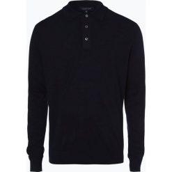 Andrew James - Sweter męski z dodatkiem kaszmiru, niebieski. Niebieskie swetry klasyczne męskie Andrew James, l, z kaszmiru. Za 249,95 zł.