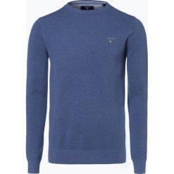 Swetry męskie: Gant - Sweter męski, niebieski