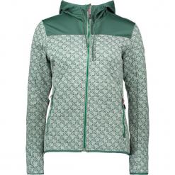 Kurtka polarowa w kolorze zielonym. Zielone kurtki damskie marki CMP Women, z dzianiny. W wyprzedaży za 218,95 zł.