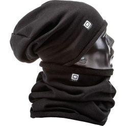 KOMIN MĘSKI A063 - CZARNY. Czarne szaliki męskie marki Ombre Clothing, z bawełny. Za 14,99 zł.