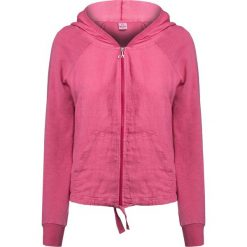 Bluzy rozpinane damskie: Bluza DEHA EASY Różowy