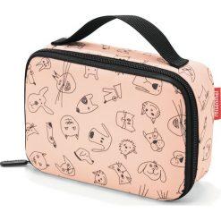 Torba chłodząca Thermocase Cats and Dogs brzoskwiniowa. Pomarańczowe torby plażowe marki Reisenthel. Za 59,00 zł.