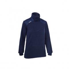 Sweter żeglarski INSHORE 500 damski. Niebieskie swetry klasyczne damskie marki TRIBORD, m, z bawełny. Za 79,99 zł.
