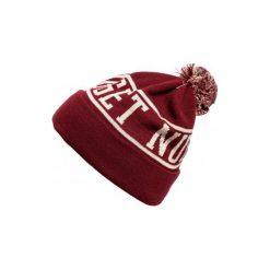 Nugget Czapka Męska Burgund Canister 3 Beanie. Czerwone czapki zimowe męskie Nugget. Za 92,00 zł.