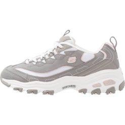 Trampki damskie slip on: Skechers Sport D'LITES Tenisówki i Trampki gray/white/light pink