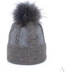 Czapka damska Furrrtastic szara. Czarne czapki zimowe damskie marki BIG STAR, z gumy. Za 66,01 zł.