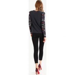 Bluzki asymetryczne: Rich & Royal Bluzka z długim rękawem black