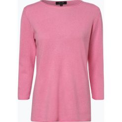 SvB Exquisit - Sweter damski z czystego kaszmiru, różowy. Czerwone swetry klasyczne damskie SvB Exquisit, z dzianiny. Za 729,95 zł.