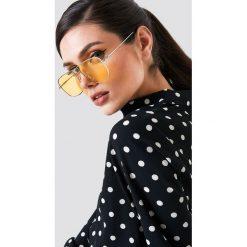 NA-KD Trend Kwadratowe okulary przeciwsłoneczne - Yellow - 2