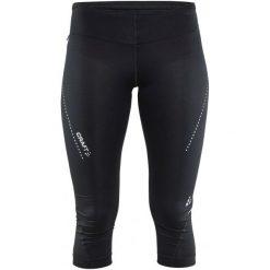 Spodnie sportowe damskie: Craft Spodnie Essential Capri Black S