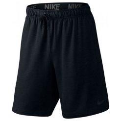 Spodenki sportowe męskie: Nike Spodenki Treningowe Dri Fit Training Fleece 8″ 817417 010 L