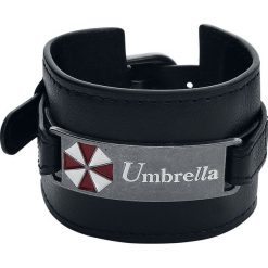 Bransoletki damskie: Resident Evil Umbrella Bransoletka z ekoskóry czarny