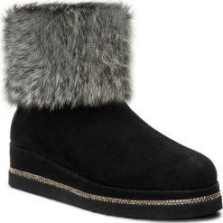 Botki BALDININI - 848701AGFBR00 F Golf/Brise Nero. Czarne buty zimowe damskie Baldinini, ze skóry. W wyprzedaży za 939,00 zł.