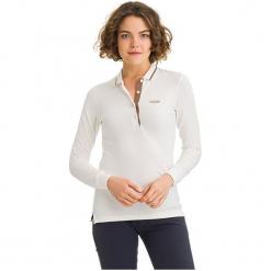 Galvanni Koszulka Polo Damska Melbourne S Biały. Białe bluzki asymetryczne GALVANNI, s, polo, z długim rękawem. W wyprzedaży za 199,00 zł.