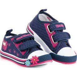 Trampki dla dziewczynki mckeylor McKeylor niebieskie. Niebieskie buty sportowe dziewczęce marki RAWEKS. Za 49,90 zł.