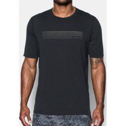 Under Armour  Koszulka męska Run Graphic SS czarna  r. M (1299040). Szare koszulki sportowe męskie marki Under Armour, z elastanu, sportowe. Za 84,94 zł.