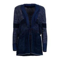 Desigual Sweter Damski Jane S Niebieski. Brązowe swetry klasyczne damskie marki Desigual, w paski, z materiału. W wyprzedaży za 359,00 zł.
