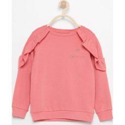 Bluzki dziewczęce: Bluzka z falbanami – Czerwony
