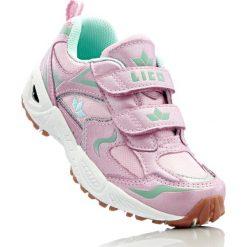 Sneakersy Lico bonprix jasnoróżowo-turkusowy. Czerwone buty sportowe chłopięce bonprix. Za 49,99 zł.