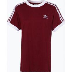 Adidas Originals - T-shirt damski, czerwony. Szare t-shirty damskie marki adidas Originals, na co dzień, z nadrukiem, z bawełny, casualowe, z okrągłym kołnierzem, proste. Za 129,95 zł.