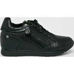 XTI - Buty. Czarne buty sportowe damskie Xti, z materiału. W wyprzedaży za 179,90 zł.