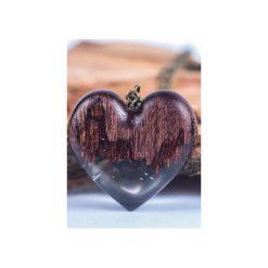 Naszyjnik Chocolate Heart. Czarne naszyjniki damskie Bewoody. Za 149,25 zł.