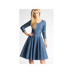 Sukienki: Sukienka FLER Midi Denim