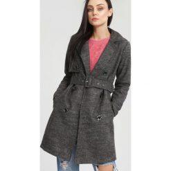 Płaszcze damskie: Ciemnoszary Płaszcz Apparent