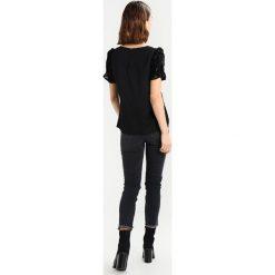 Bluzki asymetryczne: Oasis DEVORE ROUCHED  Bluzka black