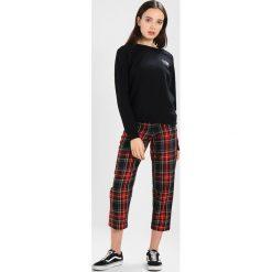 Bluzy damskie: Vans RAGLAN CREW Bluza black