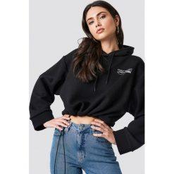 Cheap Monday Bluza z kapturem Expose - Black. Czarne bluzy rozpinane damskie Cheap Monday, z kapturem. Za 222,95 zł.