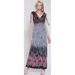 Sukienki hiszpanki: Fuksjowa Sukienka Sunday Noise