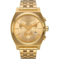 Zegarki męskie: Zegarek męski All Gold Nixon Time Teller Chrono A9721502