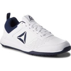Buty Reebok - Ctx Tr CN4678 White/Navy/Silver. Białe buty fitness męskie Reebok, z materiału. W wyprzedaży za 209,00 zł.